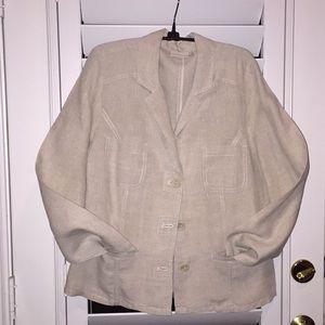 Chico's linen jacket